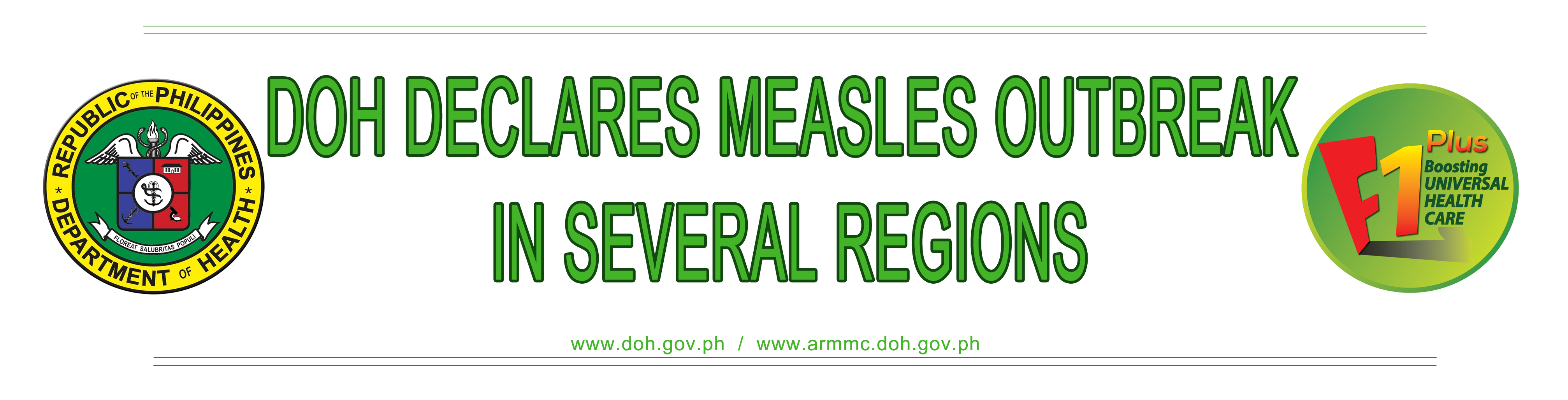 Declarion of Measles Outbreak